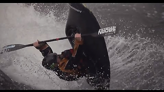 Freestyle Kayaker Devyn Scott Has Epic..