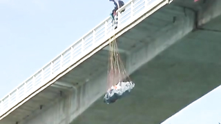 Base Jumper Hits Water.