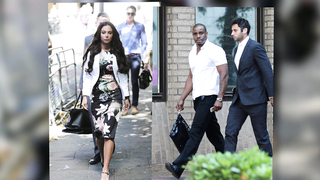 Tulisa Contostavlos Heads To Court for The Start Of Her Trial.