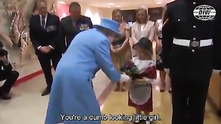 The Queen caught being rude UK.