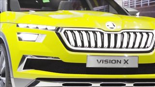Skoda Vision X - interior Exterior and Drive
