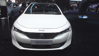 Peugeot 508 GT Line BlueHDi 180 S&S EAT8 (2018) Exterior and Interior