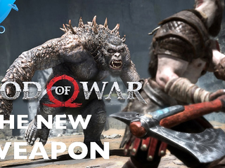God of War's New Weapon: The Leviathan Axe | PS4