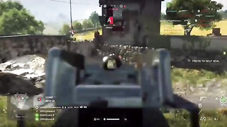 7 kill strake on Arras with the Thompson in Battlefield 5.