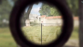 Just gunning people down with the M1A1..