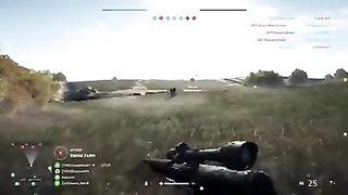 Satisfying moments in BattlefieldV.