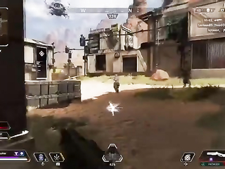 Don't you love hitting shots with the Peacekeeper?