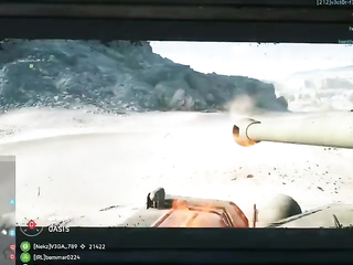 Sometimes you have to steal a guys tank to save a mate.