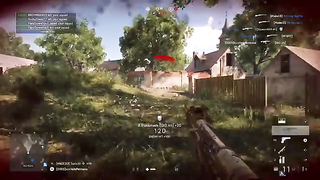 Just another day in BF5 ..8 kills on Arras Map.
