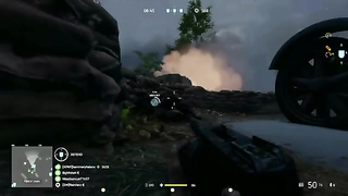 Playing hide and seek with the enemies On panzerstorm.