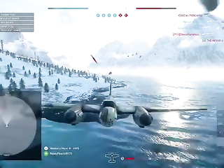 Ghost plane killed me WTF Battlefield come on.