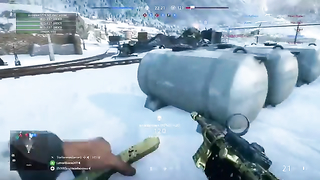 Flanking on Narvik with the MP40.