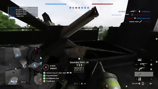 Never see a tank commit suicide before.