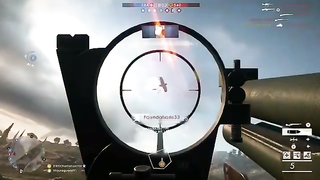 Two planes taken down with one shot.