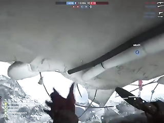 Assault runs on BF1 with MP18