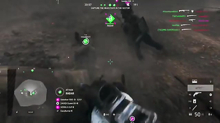 Saved myself, squad mate, and a random. I'd say medic,