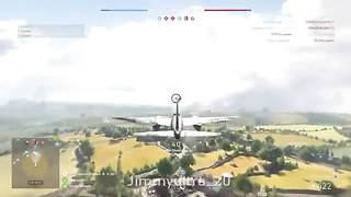 Hunting tanks, planes and AA guns in Battlefield five.
