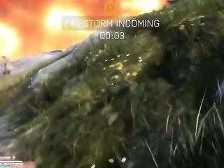 The last kill in firestorm with shovel for Victory.