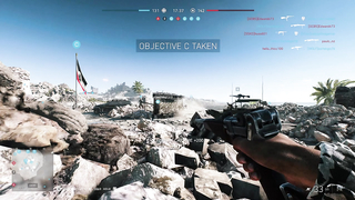 Funny moment in Battlefield V