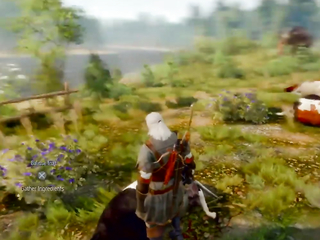 thats what happens when you kill too many cows in The Witcher 3.