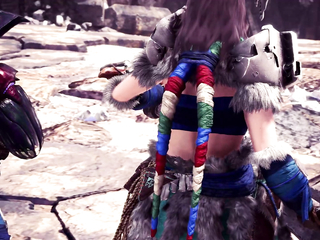 MHW: Iceborne x Horizon Zero Dawn: The Frozen Wilds - New Gear Breakdown trailer