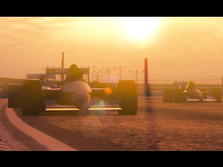 The future of competitive motorsport has arrived, and it's in a hurry. Grand Theft Auto Online.