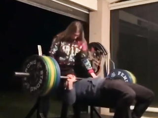 What made him think he was capable of lifting that much?!