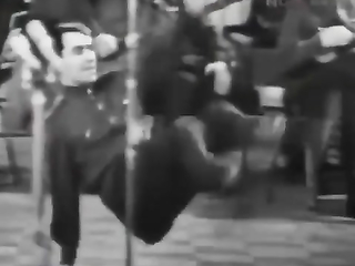 This is pure genius. Soviets soldiers are dancing a traditional Russian dance.