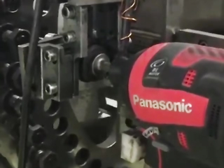 Panasonic impact driver are being tested for monts before release.