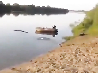 Went fishing, funny moment to remember