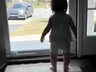 When mom came home from work