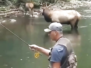 Excellent fishing, merging with nature, and most importantly no one interferes with each other