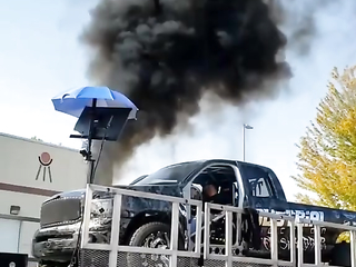 This is how a 3000 horsepower engine explodes