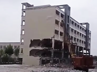 that's how they take down buildings