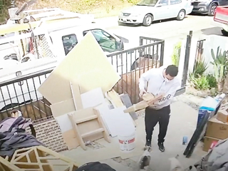 Delivery fails. funny video