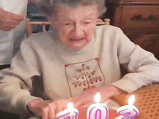 Well done 100 plus isn't easy to come by, happy 102 birthday