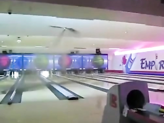How not to play bowling