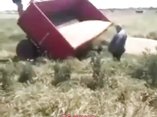 Quickly got off the trailer