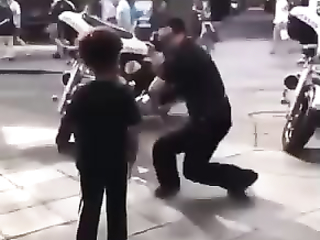 Respect to that Cool Policeman.