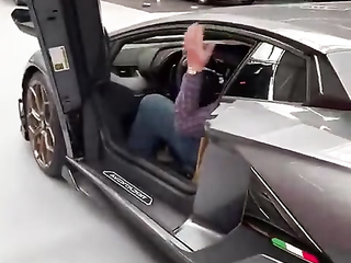 Super car with super exit - Once you're in that car you become part...