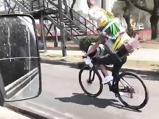 It was the cameraman's mistake