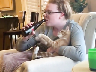 This one is the best I have seen so far - Cat Like beer.