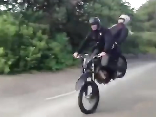 epic motorcycle fail lol