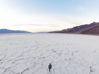 Badwater Pool, Death Valley National Park, USA   Listed as the lowest