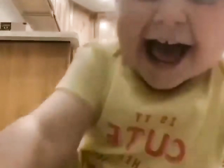 What can be more beautiful than the happy laugh of a child ?
